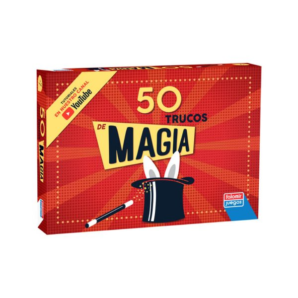 Juego Falomir - Caja Magia 50 Trucos