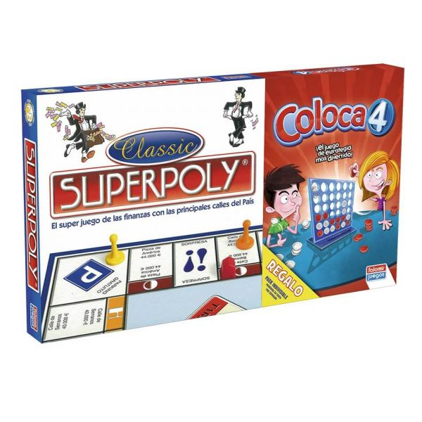 Juego Falomir - Superpoly + Coloca 4