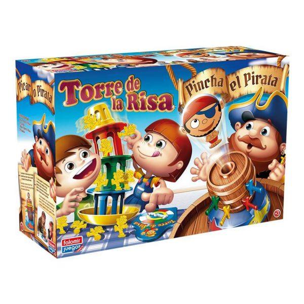 Juego Falomir - Pincha Pirata + Torre Risa
