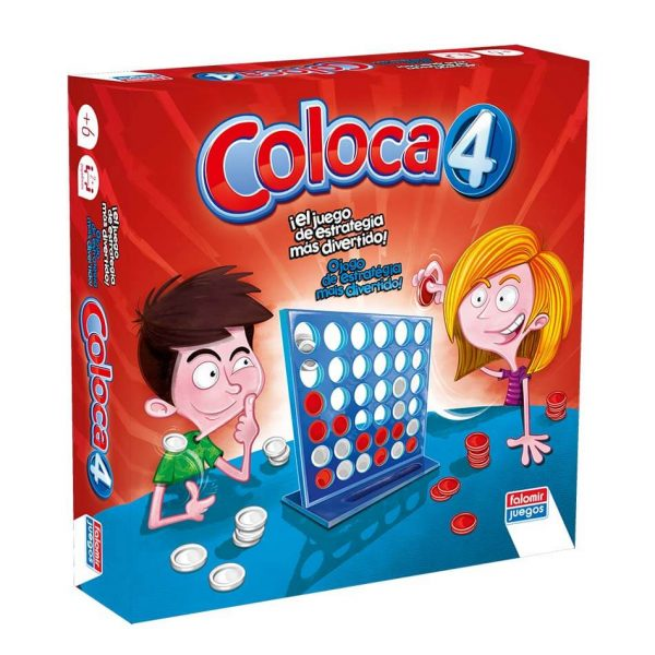 Juego Falomir - Coloca 4