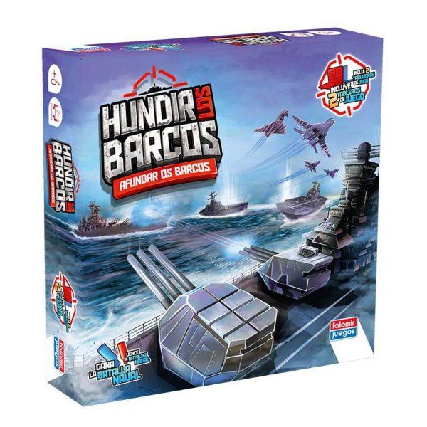 Juego Falomir - Hundir Los Barcos