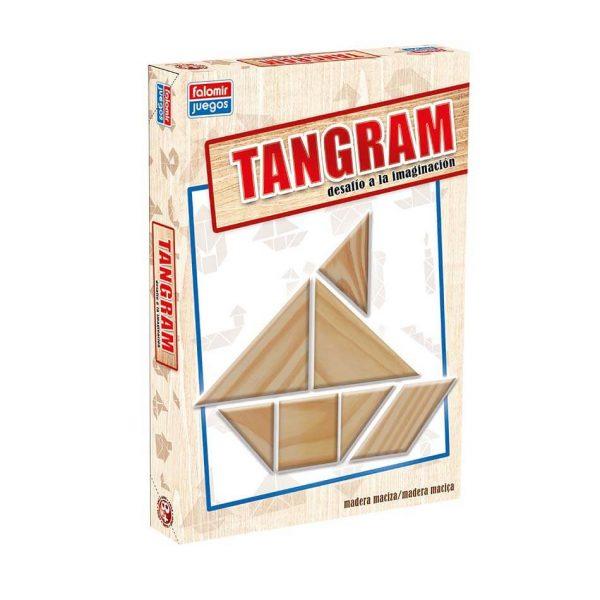 Juego Falomir - Tangram Madera