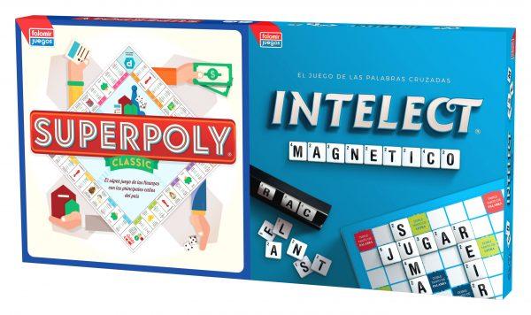 Juego Falomir - Superpoly + Intelect Magnético