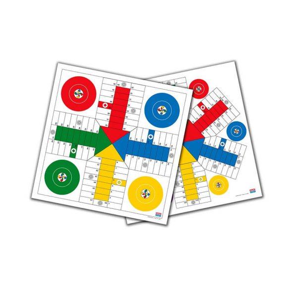 Juego Falomir - Parchís 4 y 6 Jugadores 40 cm
