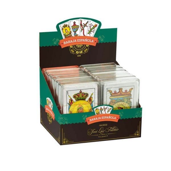 Juego Falomir - Baraja Española caja plástico