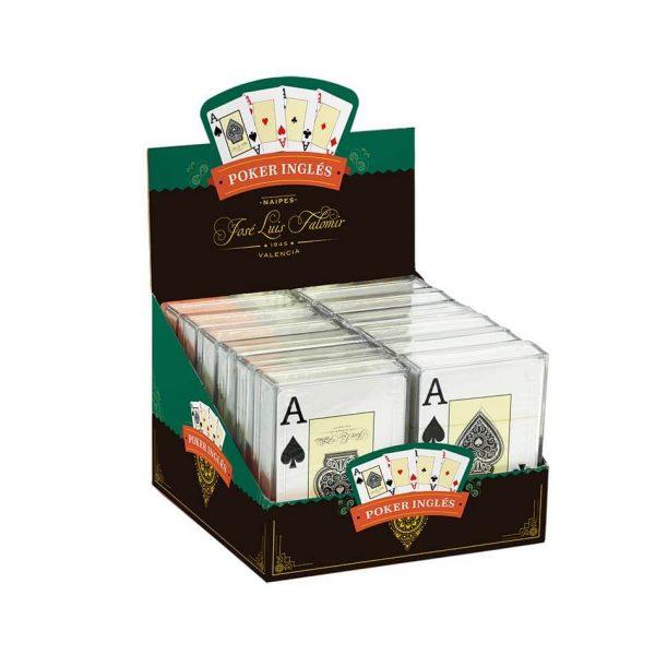 Juego Falomir - Baraja Póker caja plástico