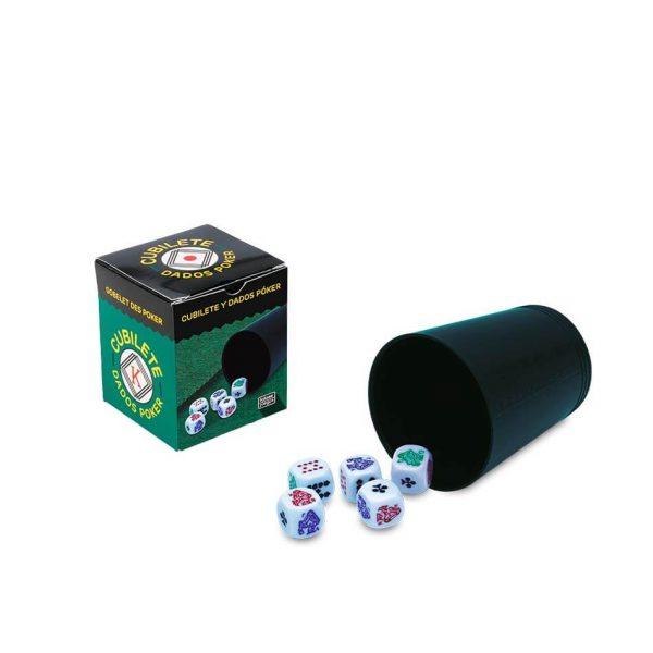 Juego Falomir - Cubilete Póker
