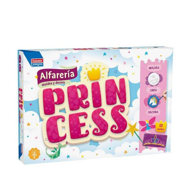 Juego Falomir - Alfarería Princesas