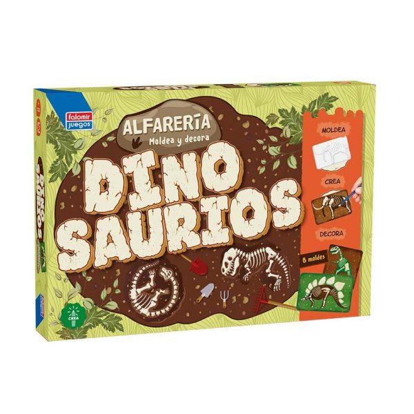 Juego Falomir - Alfarería Dinosaurios