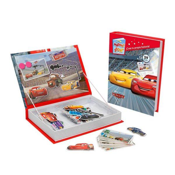 Juego Falomir - Magnet Story Disney Cars
