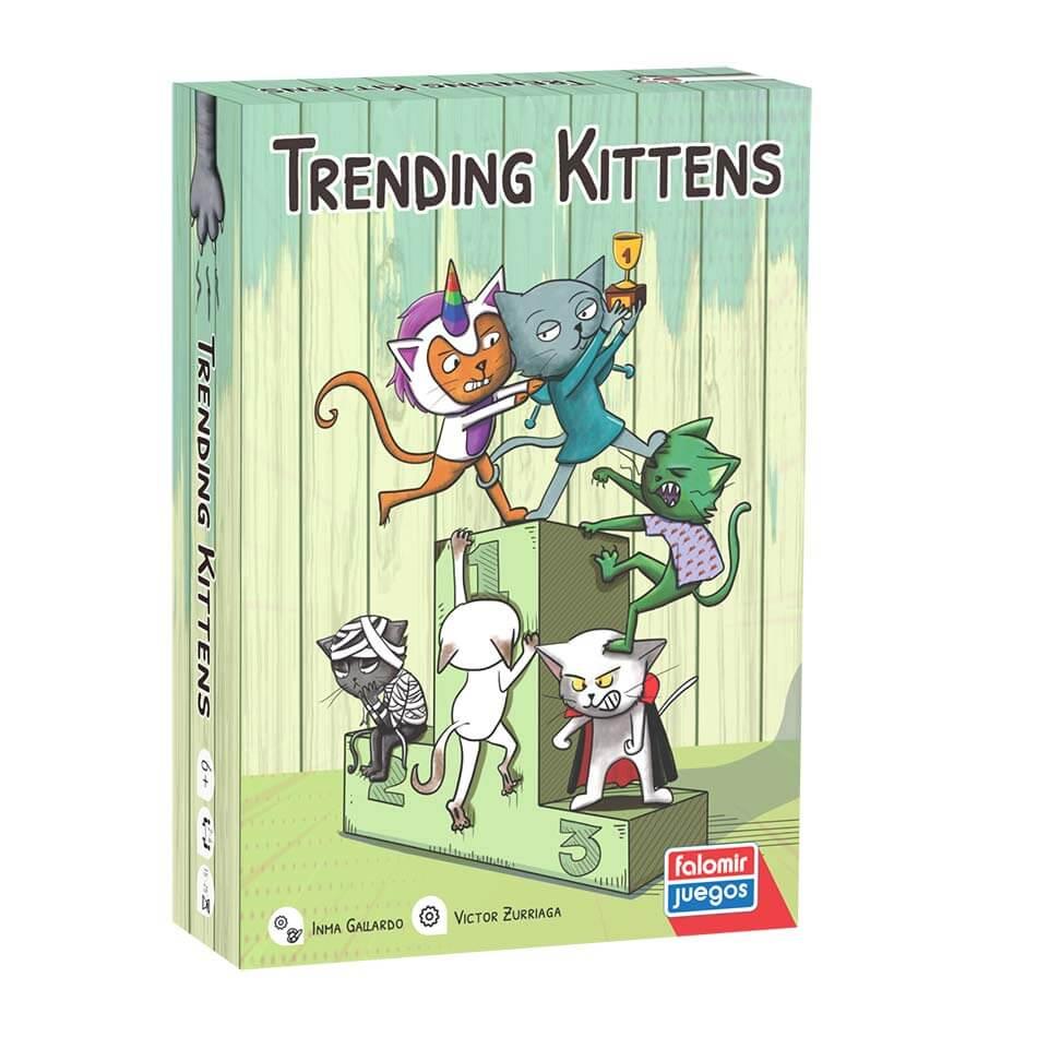 Juego Trending kittens